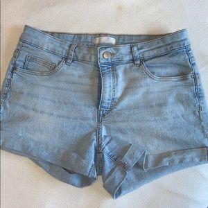 H&M shorts, high rise